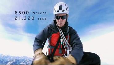 la première ascension centrale de la face sud du Tawoche 6500m
