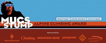 Le Mugs Stump alpine climbing award