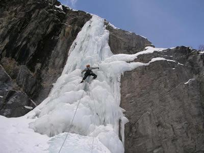 Une belle selection de cascade de glace