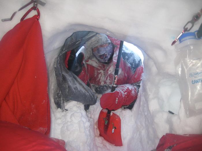 tentative pour la première femme au sommet du McKinley en Hiver