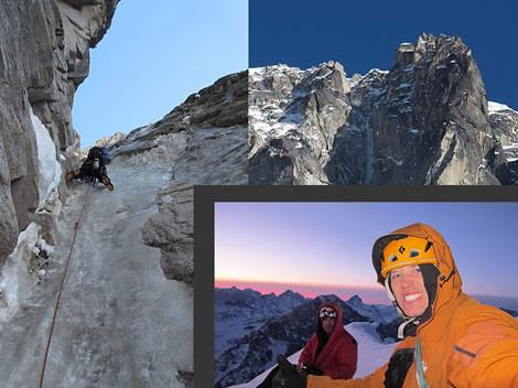 Première au Mont Mausolus Alaska Face Ouest Direct (vidéo)