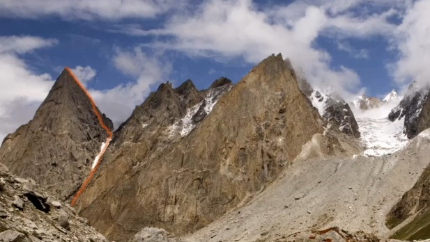 Ascension du Nayser Brakk, 5200m, Pakistan (vidéo)