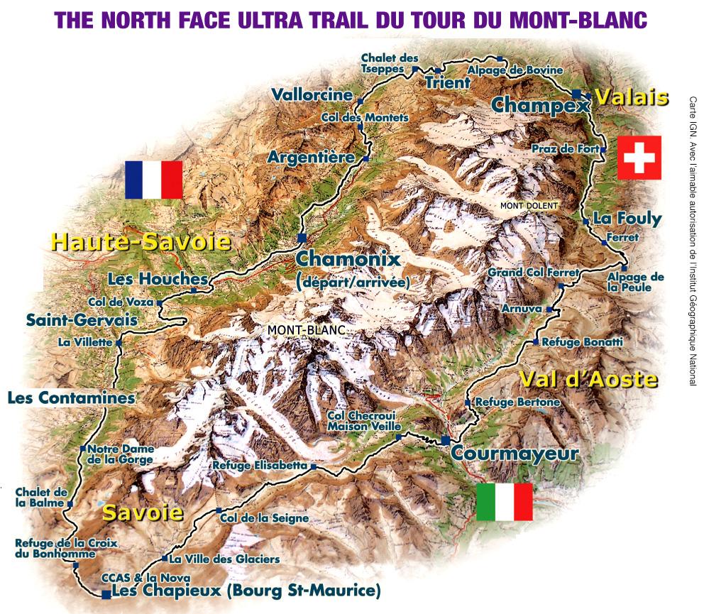 l'édition de l'Ultra Trail du Mont blanc pour 2011