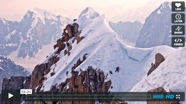 The Tooth Traverse Alaska (vidéo)