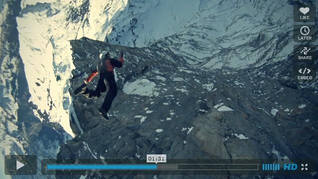 Base Jump au ralenti (video)