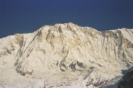 Park Young-Seok manquant en face sud de l'Annapurna