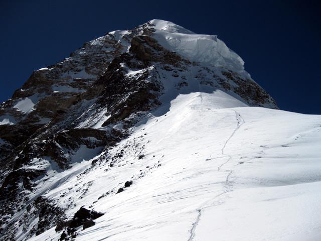 Tentative hivernale au K2 2011-2012