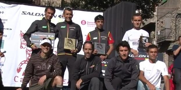 Les meilleurs coureurs de trail étaient là : Cavalls del Vent 2011