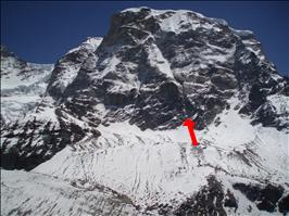 Une nouvelle voie au Népal pour Mick Fowler et Dave Turnbull