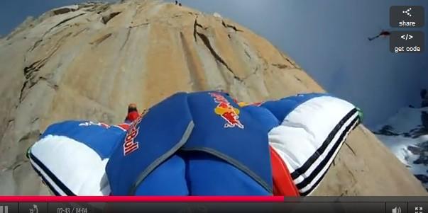 Base Jump au Mont Blanc