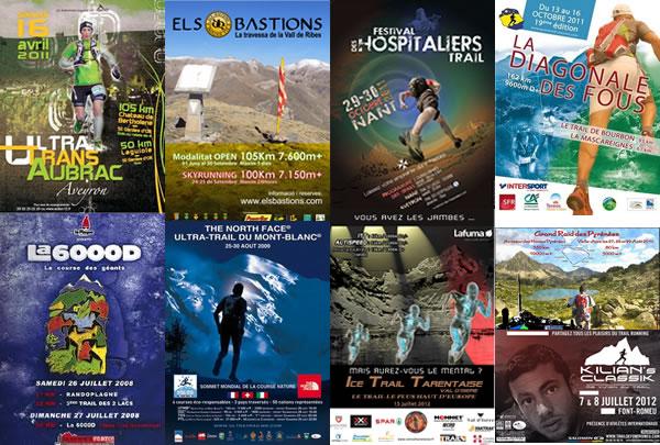 calendrier des courses de Trail et Ultra Trail 2012