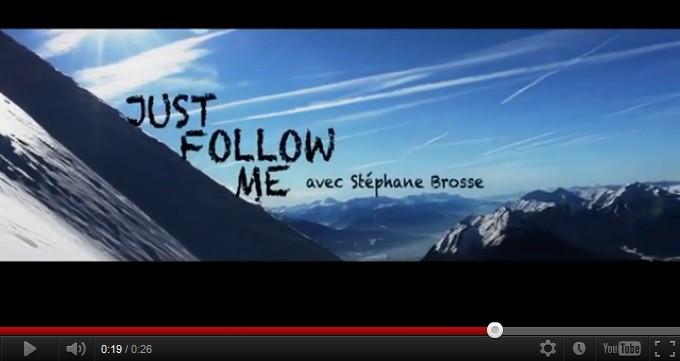 Just Follow Me – Ski alpinisme avec Stéphane Brosse (video teaser)