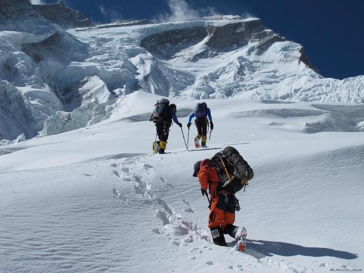 Expédition Annapurna I en cours