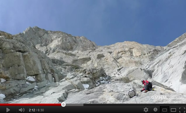 Grandes Jorasses par Sbastien Bohin, Dimitry Munoz et Sbastien Ratel