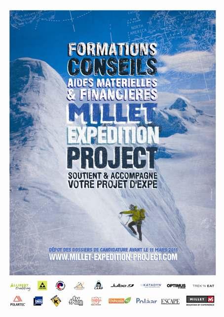 les lauréats du Millet Expédition Project