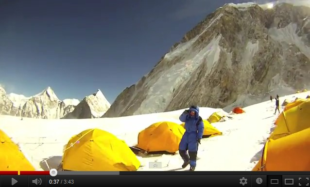 Everest camp 1 à camp 2