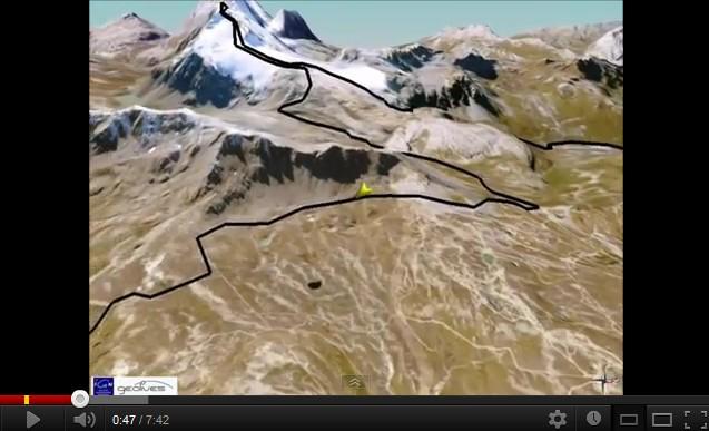 présentation du parcours de l'Ice Trail Tarentaise 2012