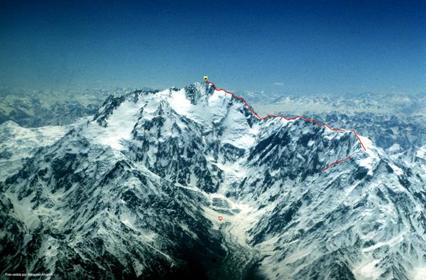 Tentative en cours à la Mazeno Ridge (Nanga Parbat)