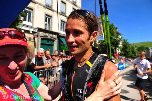 Ultra Trail d'Aurillac (105km) Victoire d'Oscar Perez Lopez