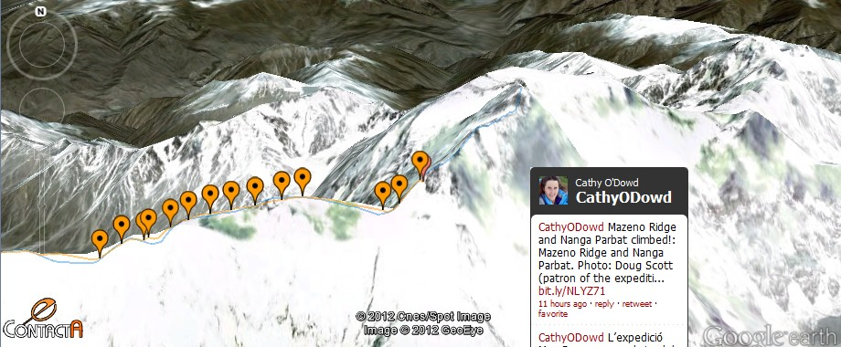 Nanga Parbat Mazeno ridge : c&#8217;est fait !