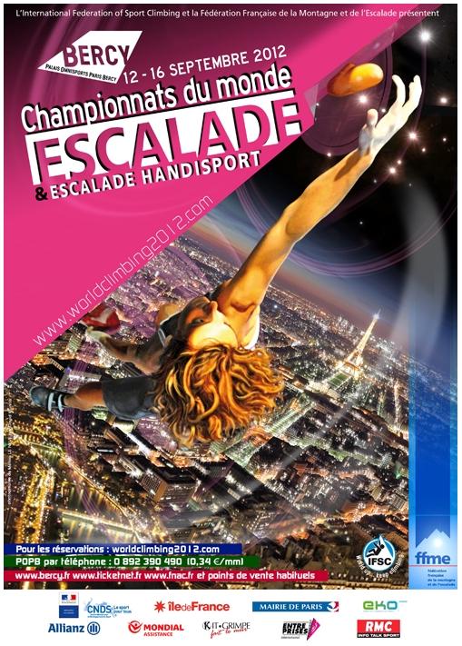 Championnats du Monde 2012 d'Escalade c'est maintenant !