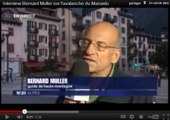 Avalanche du Manaslu : Interview Bernard Muller & Jean-Michel Asselin
