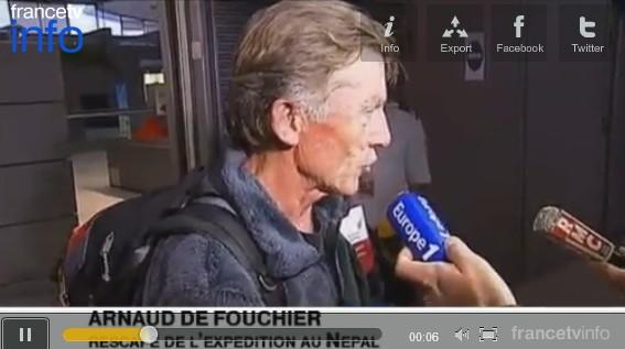 Manaslu : témoignage d'un rescapé français