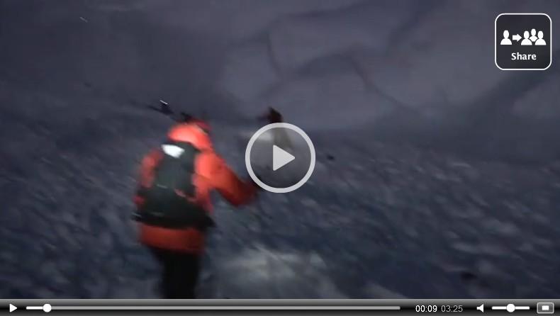 Avalanche Manaslu : la vidéo des premiers instants