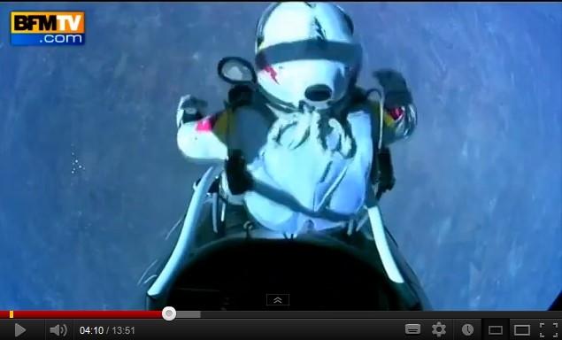 Le saut record de Felix Baumgartner