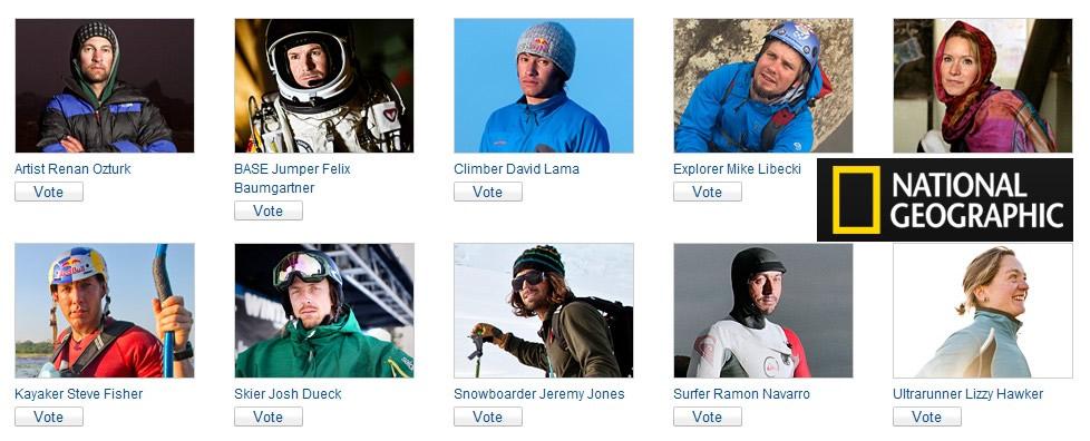 National Geographic : les aventuriers de l'année 2013