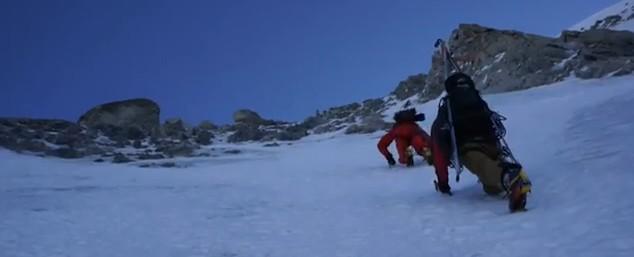 Les Suisses aux Courtes en vidéo : un classique de l'alpinisme