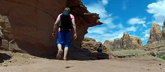 Moab BASE Jump