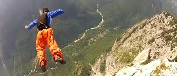 Base Jump Vercors