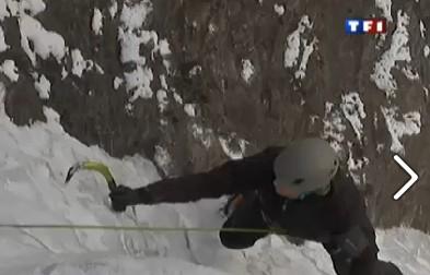 L'Ice Climbing sur TF1