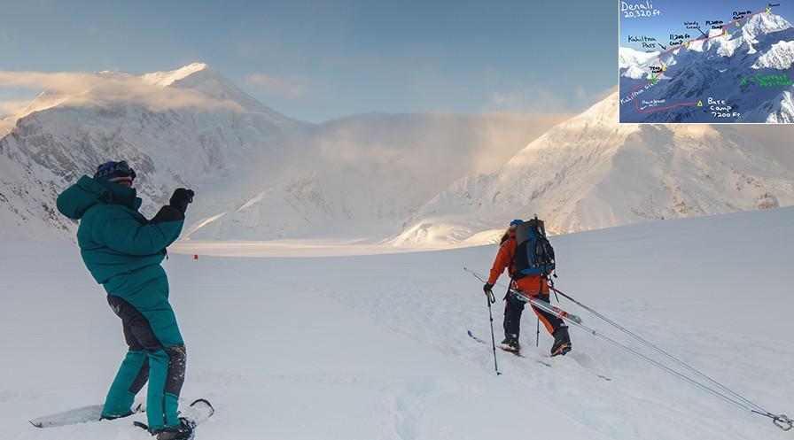 Ascension hivernales 2013 : les premières tentatives