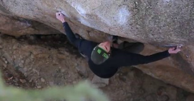 Daniel Woods – The Grey 8B+