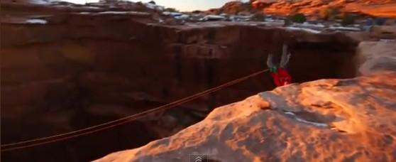 impressionnant saut à la corde