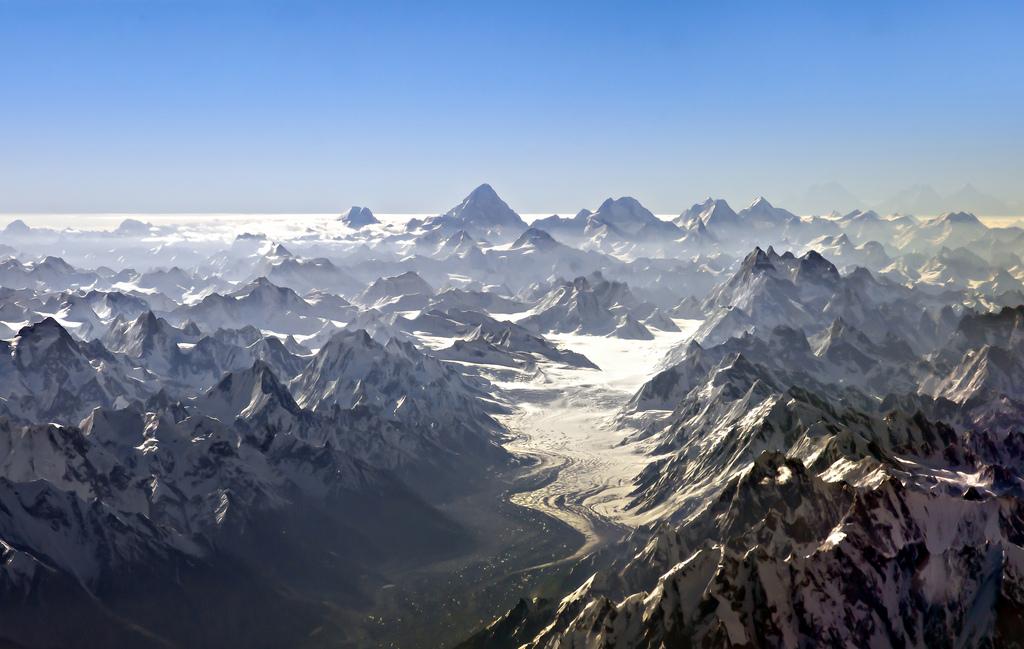Superbe photographies aériennes du K2 Nanga Parbat etc…