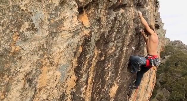 Chris Sharma grimpe en Australie (vidéo eng)