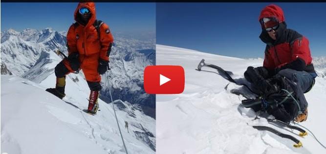 Yannick Graziani revient sur son ascension de la face sud de l'Annapurna 8091 mètres en compagnie de Stéphane Benoist