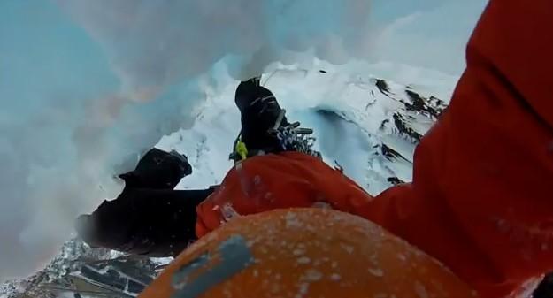Cascade de glace en Norvège avec Matthias Scherer