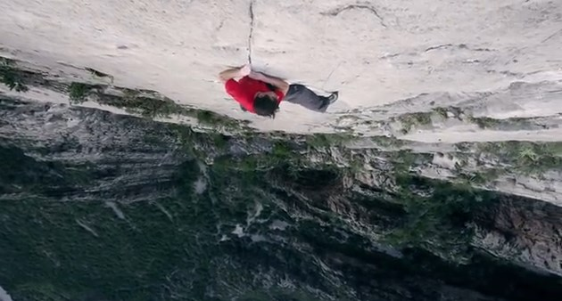 Alex Honnold 5.12 Big Wall Solo : a voir absoluement pour se faire peur !