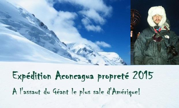 Clean Expédition à l'Aconcagua avec Romain Chautard