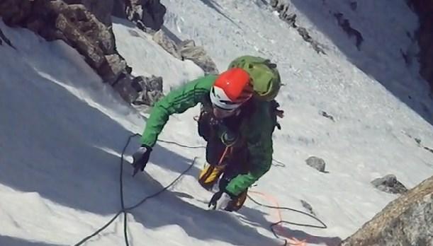 la voie Bodin Afanassieff au Mont Blanc du Tacul en 2 heures