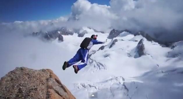 pour une poignée de secondes (glace, escalade et base jump)