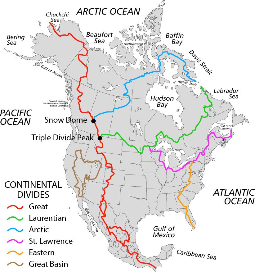 Triple crown ou les trois hyper randonnées des USA