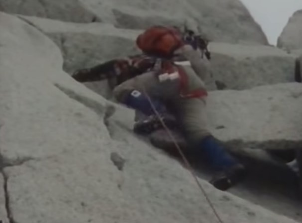 Jean et Michel Afanassieff, Guy Abert, Jean Fabre et Gilles Sourice ouvrent une voie en Patagonie au Fitz roy en 1979 (vidéo)