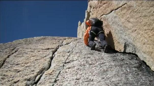 L'ascension du pilier du Freney au Mont Blanc par Ludovic Challéat