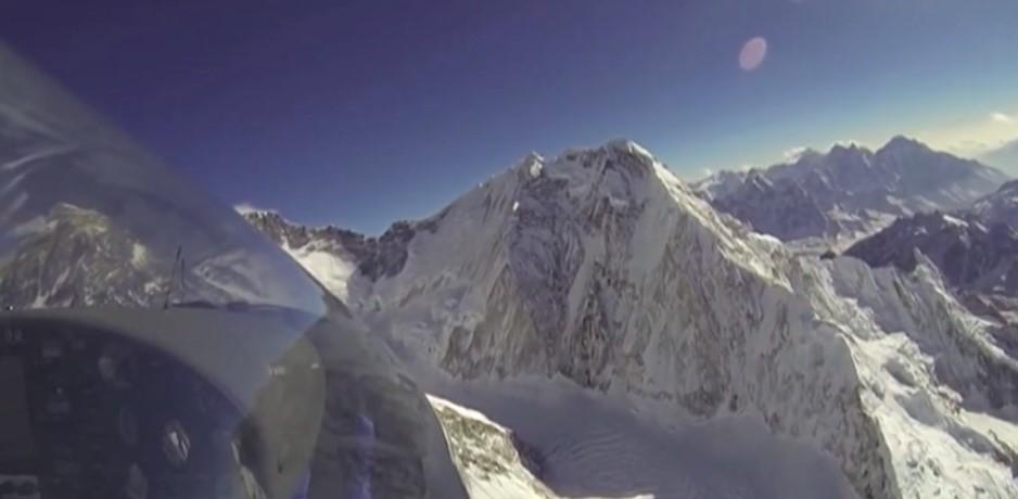 Survole de l'Everest en planeur