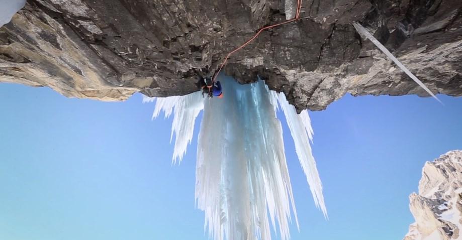 Cascade de glace et mixte en suisse avec Jeff Mercier